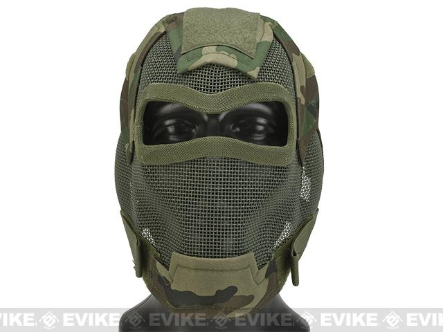 Matrix Iron Face Carbon Steel Watcher Gen7 Full Face Mask - Woodland