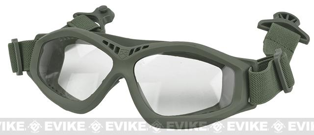 6mmProShop Compact Goggles for Bump Helmets - Grey