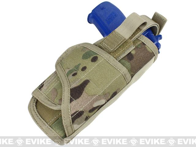 Condor Vertical MOLLE Ready Holster - Multicam