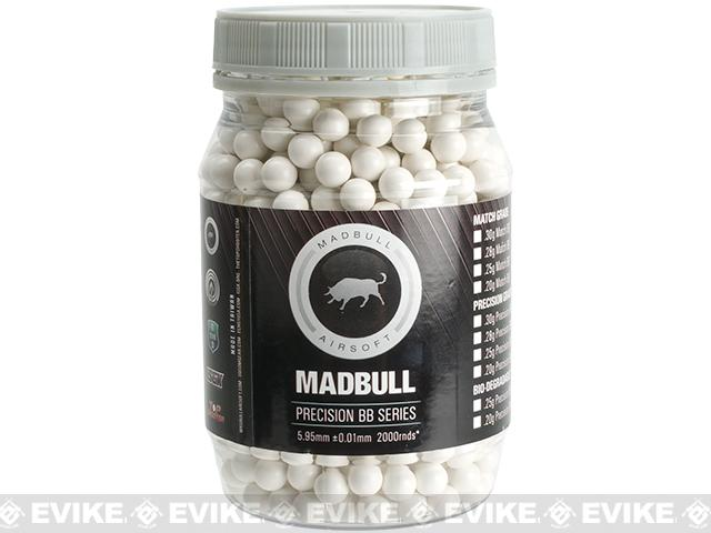MadBull Airsoft High Impact 0.48g 8mm Airsoft BBs - 850 Rounds