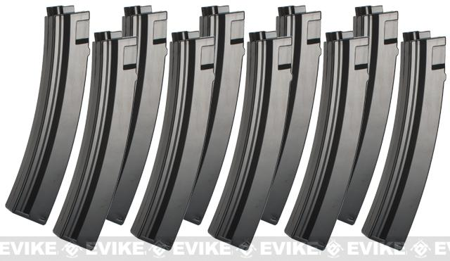 Umarex 95rd Magazine for H&K MP5 Series Airsoft AEG Rifle - Set of 10