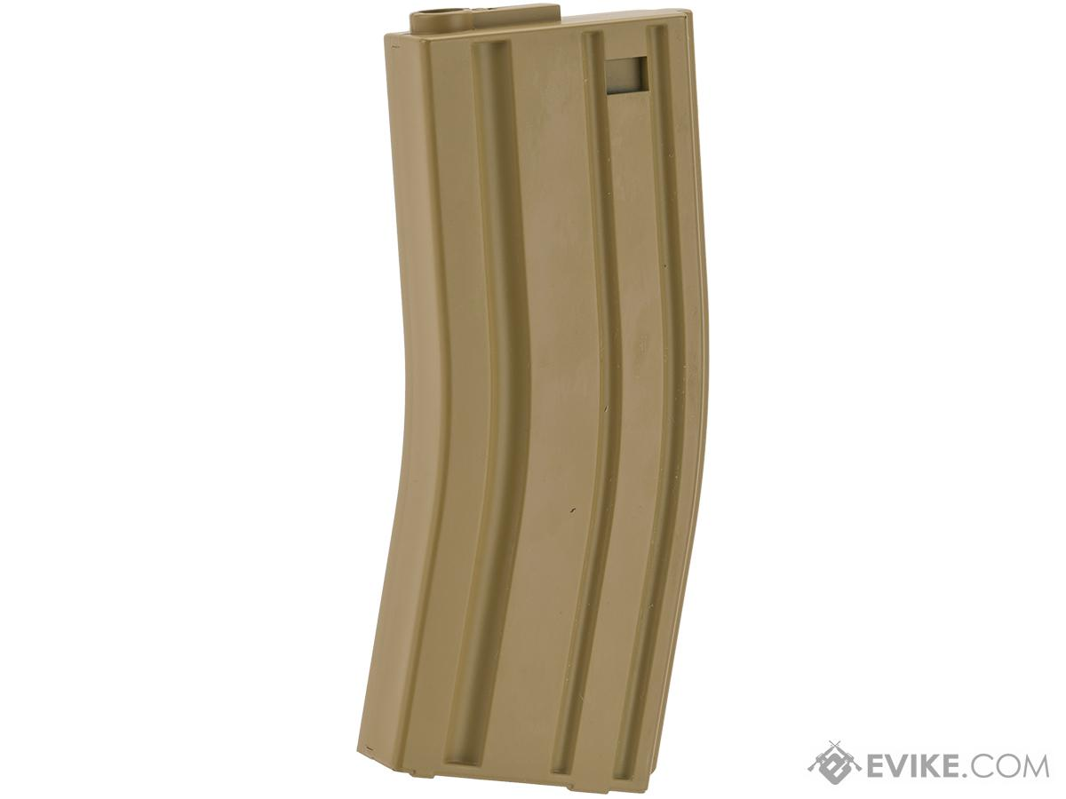 MAG 130 rd Midcap Magazine for M4 / M16 / L85 Series Airsoft AEG - Dark Earth (One Magazine)