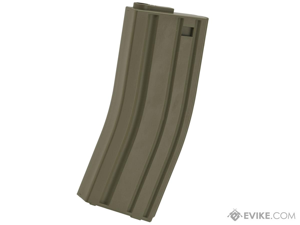 MAG 130rd Midcap Magazine for M4 / M16 Series Airsoft AEG Rifles  (Color: OD Green / One)