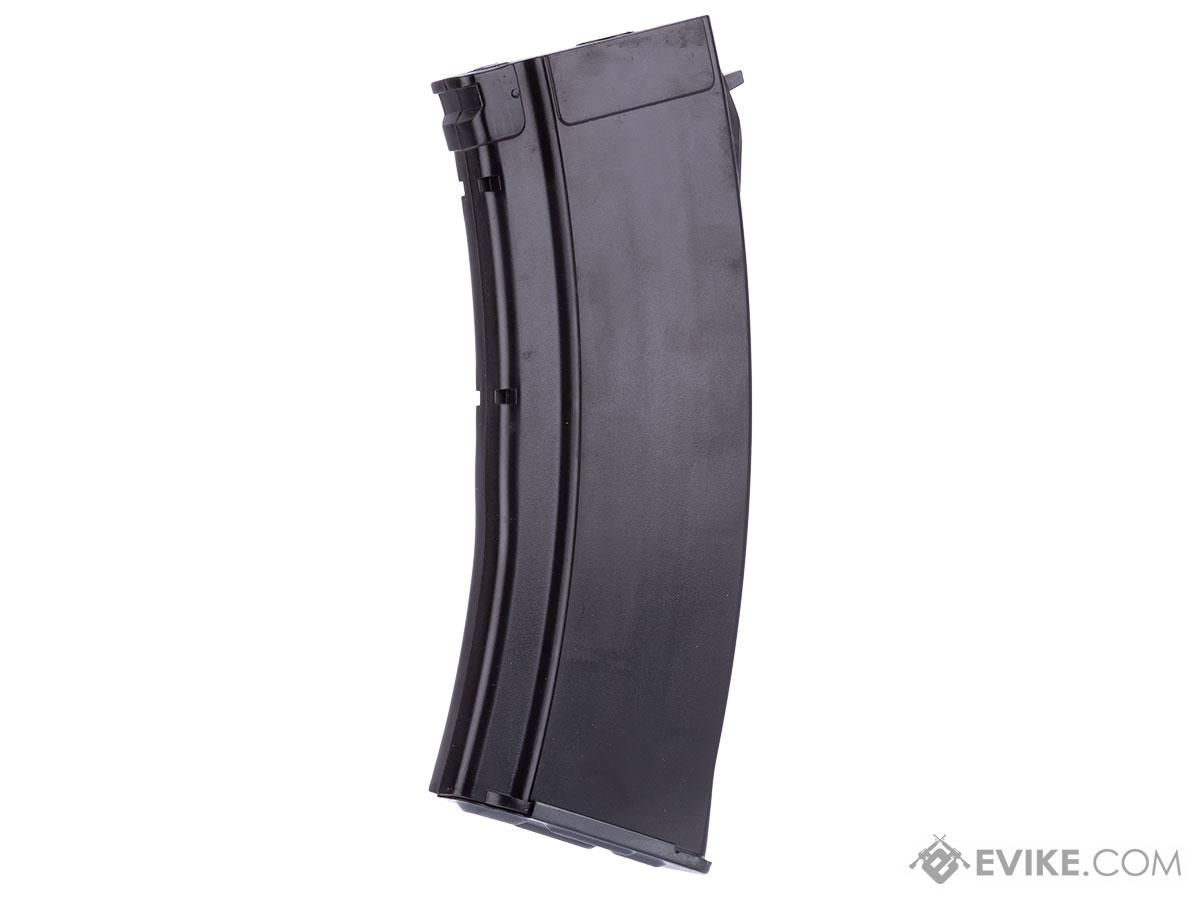 MAG 100 Round Mid-Cap Magazine for AK Series Airsoft AEG - Plum Type (Qty: Five)