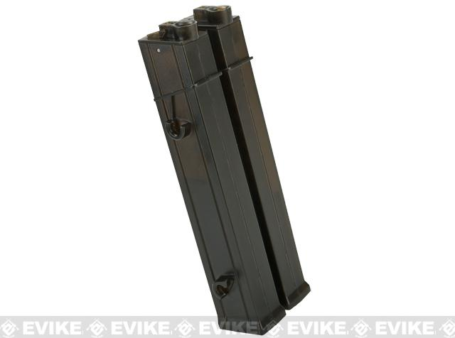 Angel Custom AP10 200rd Hi-Cap Straight Style Magazine for MP5 Series Airsoft AEG - 5 Pack