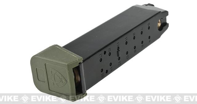 APS 23rd CO2 Magazine for ACP Series Airsoft GBB Pistols - OD Green