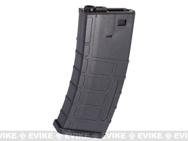 SRC 300rd Polymer Magazine for M4 / M16 Series Airsoft AEG Rifles - Black