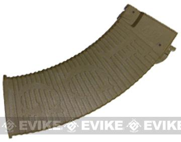 APS HELL Style 500rd Hi-Cap Magazine for Airsoft AK Series AEG - Dark Earth