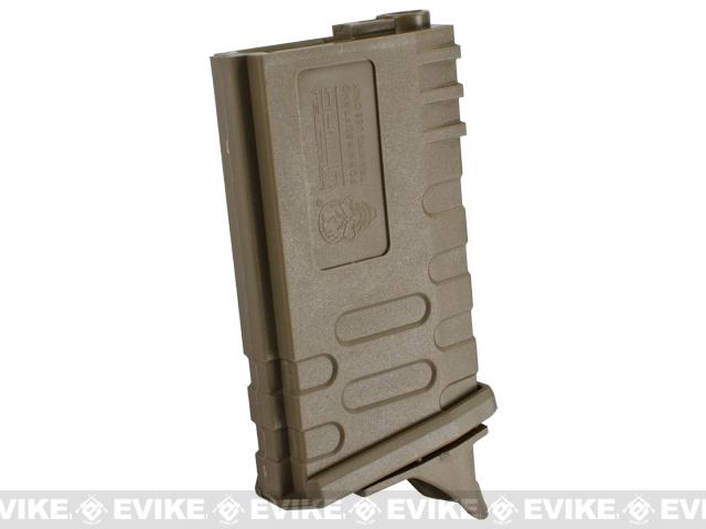 APS 190rd U-Mag Hi-Capacity Magazine for M4 / M16 / UAR Series Airsoft AEG Rifles - Dark Earth