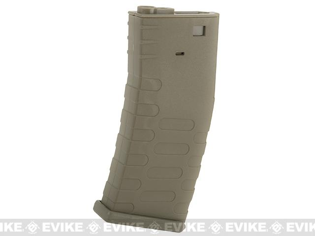 APS 300rd U-Mag Hi-Capacity Magazine for M4 / M16 / UAR Series Airsoft AEG Rifles - Dark Earth