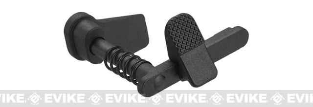 APS Ambidextrous Magazine Release for M4/M16 Series Airsoft AEGs - Black