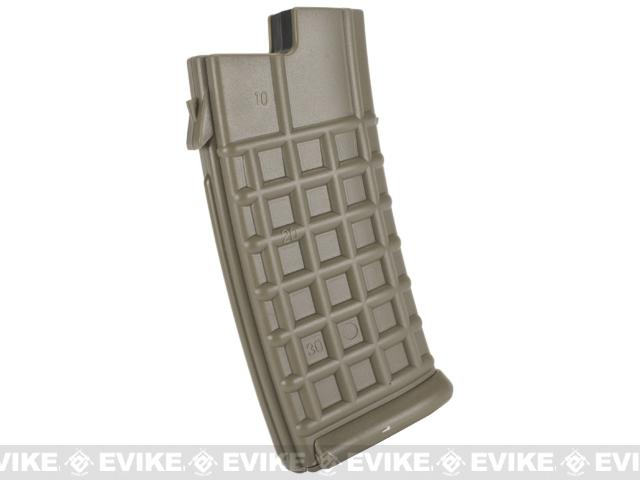 JG 330rd Hi-Cap Magazine for AUG Series Airsoft AEG Rifles - Dark Earth