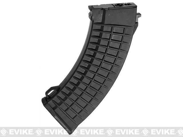 Matrix Bulgarian Waffle Type 550rd Hi-Cap Magazine for AK Series Airsoft AEG - Black