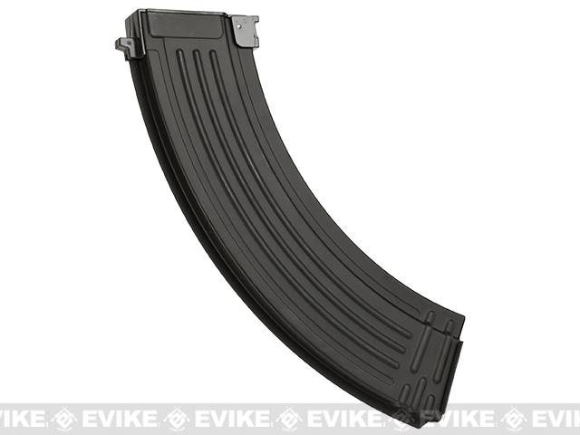 Matrix 180rd Mid Capacity Full Metal RPK Magazine for AK Series Airsoft AEG Rifles - Black