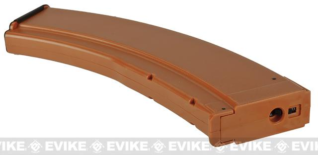 Matrix 180rd Mid Capacity Polymer RPK Magazine for AK Series Airsoft AEG Rifles - Bakelite