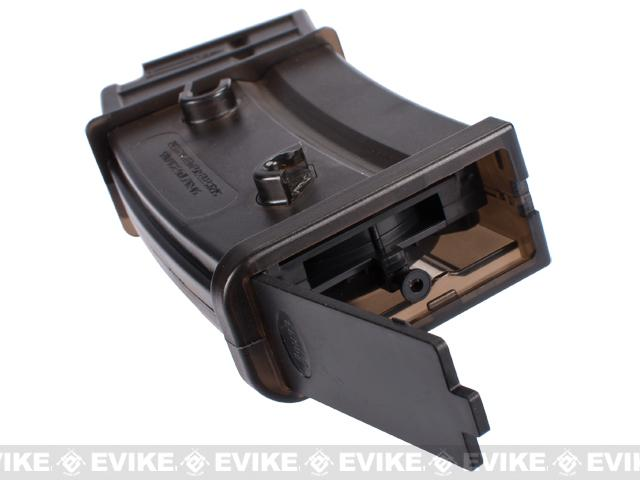 6mmProShop 300rd FlashMag Hi-Cap Magazine for G36 Series Airsoft AEG Rifles by UFC - One