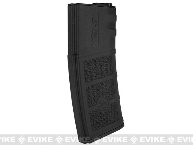 G&P Evike High RPS 360rd Polymer HI-CAP Magazine for M4 M16 Airsoft AEG Rifles - Black / Set of 5