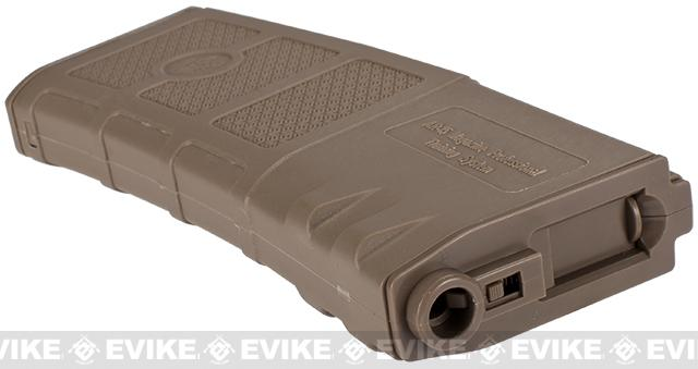 G&P Evike High RPS 360rd Polymer HI-CAP Magazine for M4 M16 Airsoft AEG Rifles - Dark Earth / One