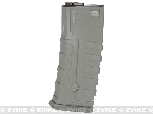 z Command Arms CAA Licensed 360rd Magazine for M4 M16 Airsoft AEG by King Arms - Foliage Green
