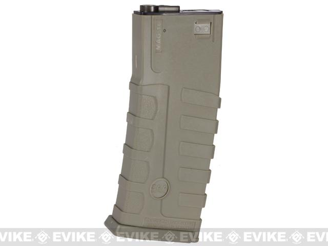 Command Arms CAA Licensed 360rd Magazine for M4 M16 Airsoft AEG by King Arms - Dark Earth