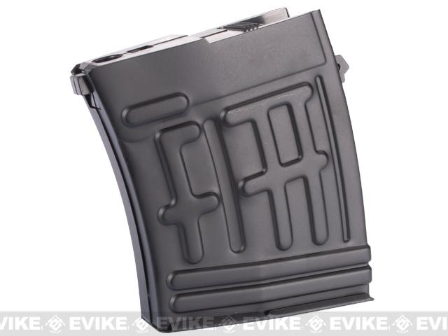 King Arms 200rd Metal Magazine for King Arms SVD Airsoft Sniper Rifle