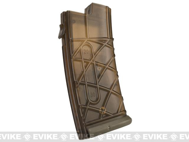 APS 330rd Hi-Capacity Magazine for AUG Series Airsoft AEG Rifles - Dark Earth