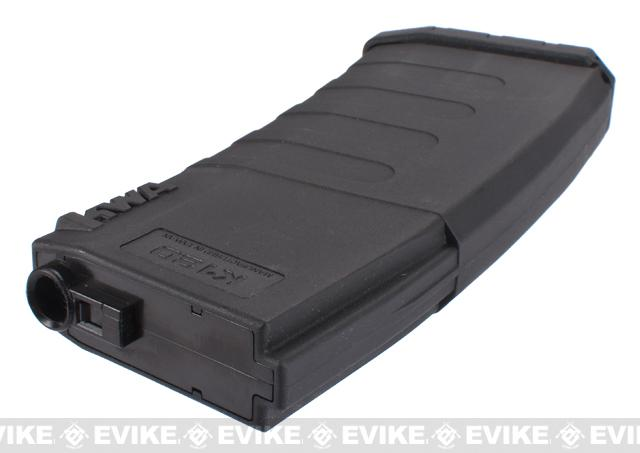 KWA K120 120rd Polymer Midcap Magazine for M4 / M16 Series Airsoft AEG Rifles - One