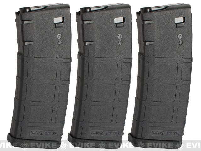 KWA 60rd Magazine for Magpul PTS RM4 Airsoft ERG Rifle - Pack of 3