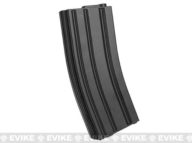 6mmProShop 140rd Midcap Magazine for M4 M16 Series Airsoft AEG Rifles - Black