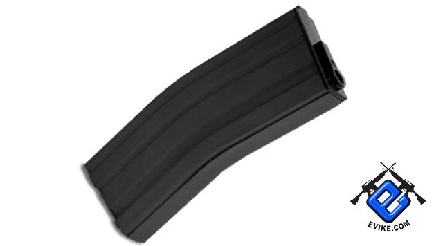 Matrix 190R Aluminum Precision Feeding Mid-Cap Magazine for M4 M16 Series Airsoft AEG - Black