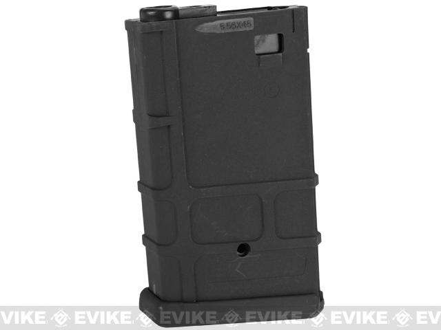 Matrix 190rd Polymer Hi-Cap Magazine for M4 M16 Series Airsoft AEG Rifles - Black