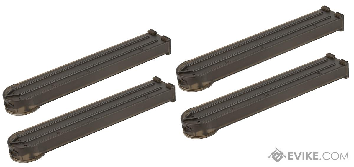 MAG 170 Round  Midcap Magazine for P90 Series Airsoft AEG (Set of 4)