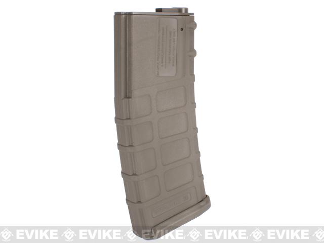 z Magpul PTS Licensed 360rd High Cap Mag for M4/M16 Series Airsoft AEG (Dark Earth / Set of 5)
