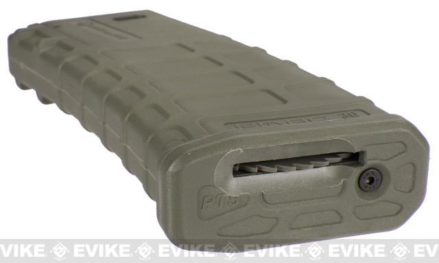 z Magpul PTS Licensed 360rd High Cap Mag for M4 M16 Series Airsoft AEG (Foliage Green / Set of 5)
