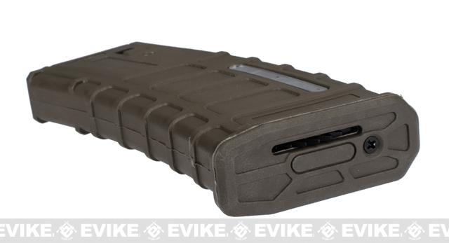 360rd ACR Type Hi-Cap Magazine for M4 M16 Series Airsoft AEG Rifles - Dark Earth