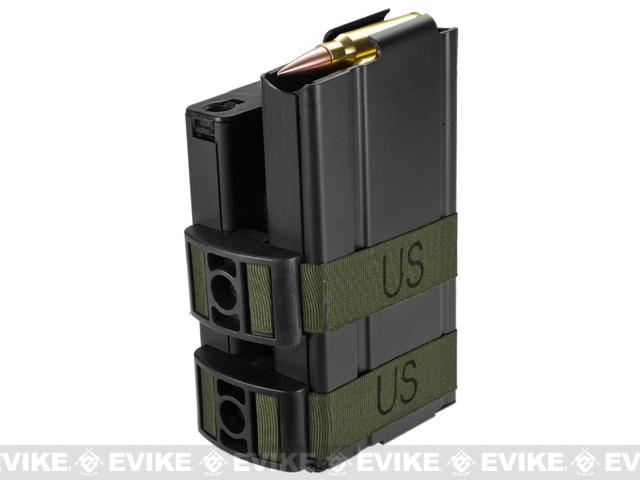 Matrix 750rd Electric Double Magazine for M14 Series Airsoft AEG Rifles - Black