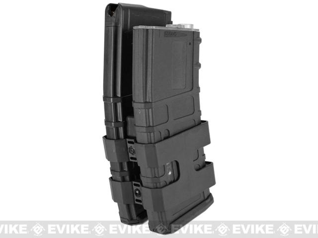 Matrix 800rd Electric Double Polymer Magazine for M4 / M16 Series Airsoft AEG Rifles - Black