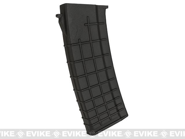 Echo1 / CYMA Genesis OCW 550rd Hi-Cap Magazine for AK74 Series Airsoft AEG Rifles - Black (One)