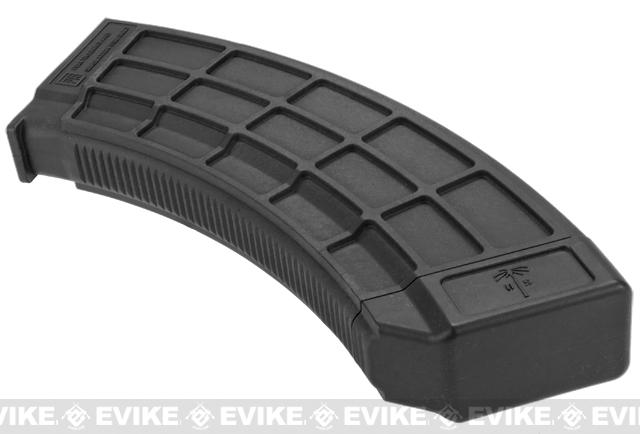 US Palm Licensed 150rd Magazine for AK Series Airsoft AEG Rifles - Black