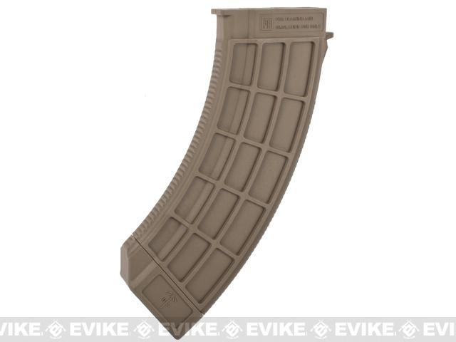 US Palm Licensed 150rd Magazine for AK Series Airsoft AEG Rifles - Dark Earth