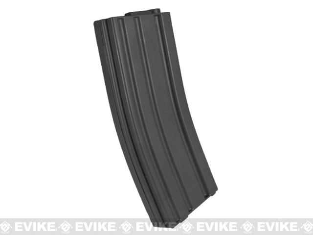 Elite Force 140rd Midcap Magazine for M4 / M16 Series Airsoft AEG Rifles - Black / Set of 10