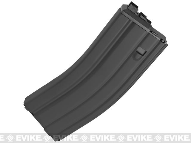 WE Spare Mag for OPEN BOLT WE M4 / SCAR / ASC / PDW Series Airsoft Gas Blowback Rifles (CO2 / Black)