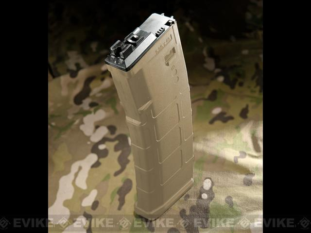 WE-Tech Magazine for MSK Series Airsoft GBB Rifles - Dark Earth