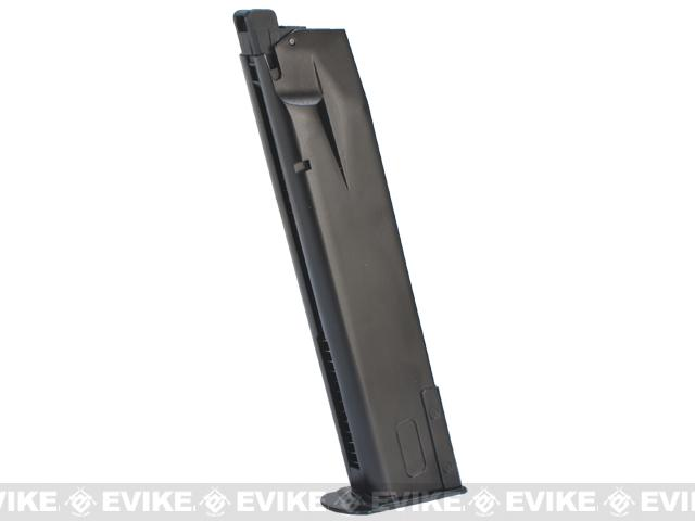 WE-Tech 30rd Full Metal Magazine for P226 / P-Virus Series Airsoft GBB Pistols - Black