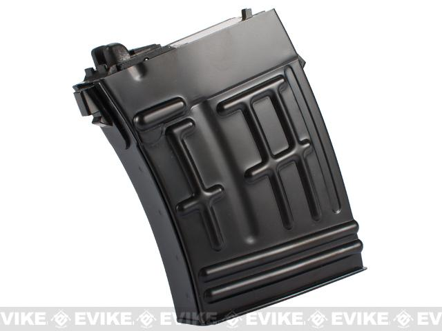 WE-Tech 20rd Full Metal Magazine for SVD Series Airsoft GBB Sniper Rifles
