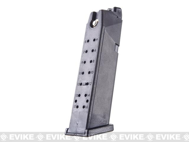 WE 25rd Lightweight Magazine for WE 17 19 18C 34 ISSC M22 SAI G series Airsoft GBB Pistols
