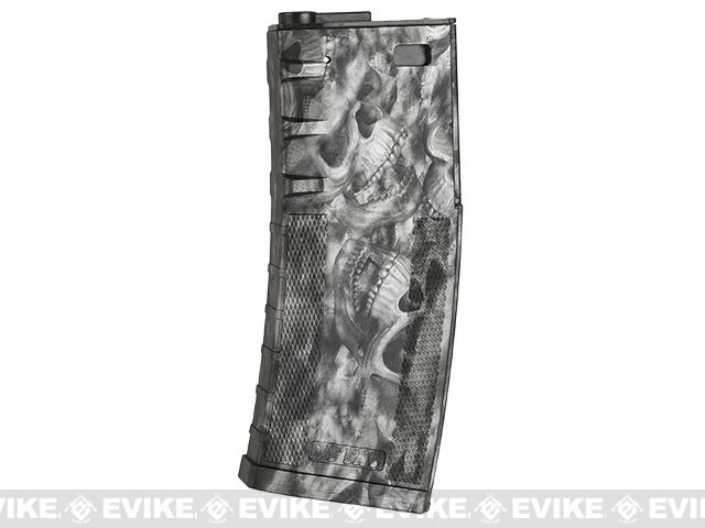 DYTAC 120rd Polymer Mid-Cap Magazine for M4 / M16 Series Airsoft AEG Rifles -  Reape Black