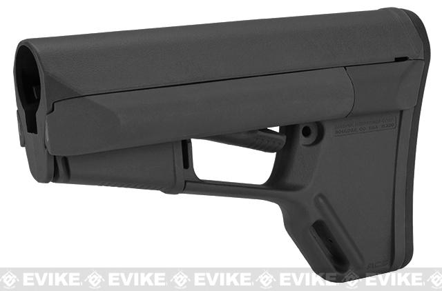 Magpul ACS Carbine Stock for M4 / M16 Series Rifles (Mil-Spec) - Black