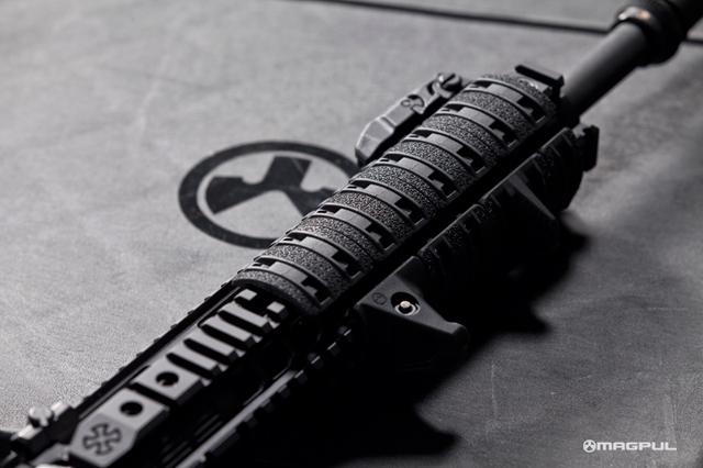 Magpul XTM Enhanced Rail Panel Covers - Foliage Green