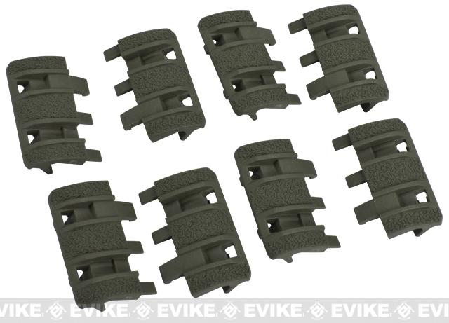 Magpul XTM Enhanced Rail Panel Covers (Color: OD Green)